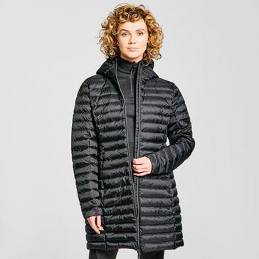 Black Peter Storm Women's Long Insulated Jacket
