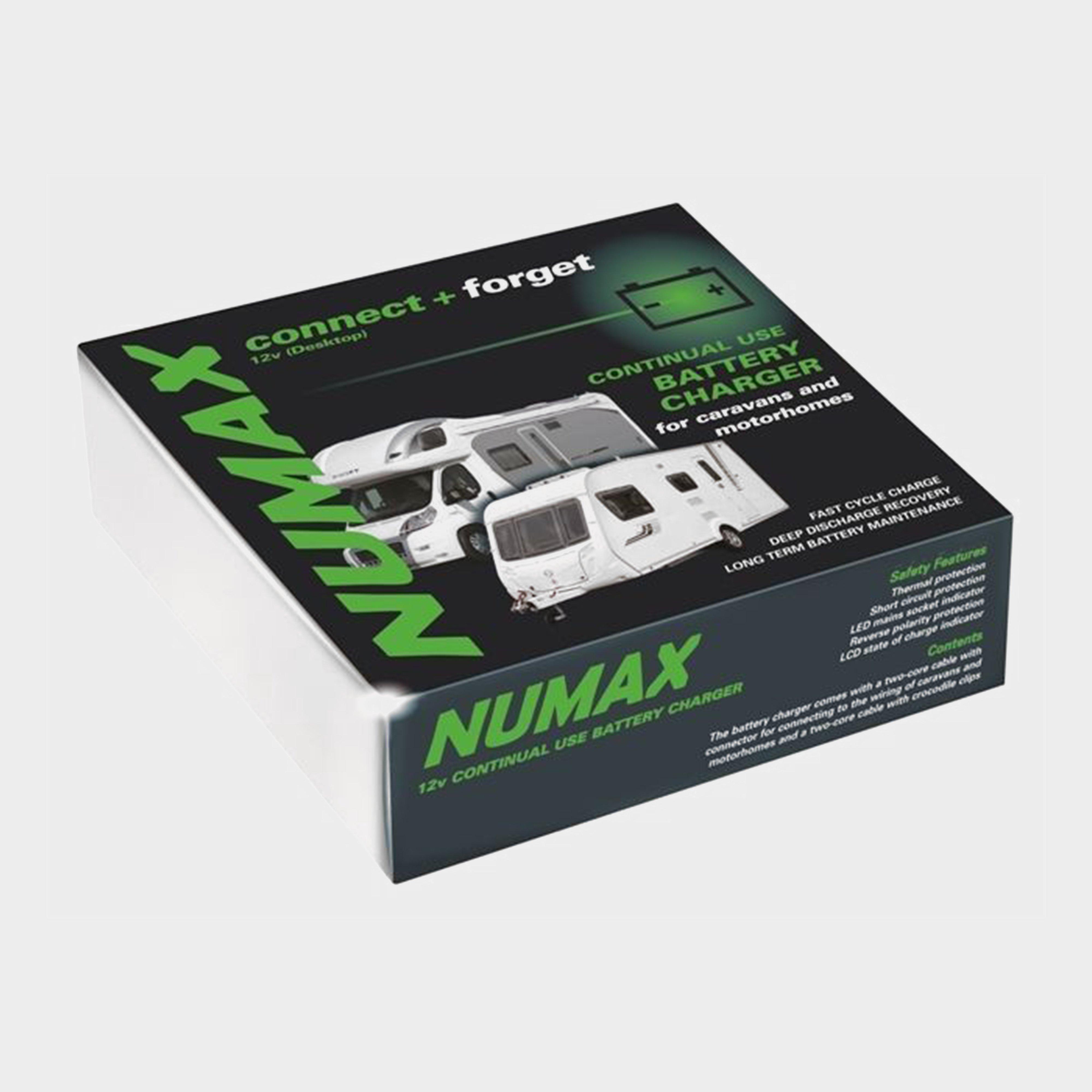 Numax 12 V 10A Leisure Battery Charger - Multi/Bur, Multi Coloured