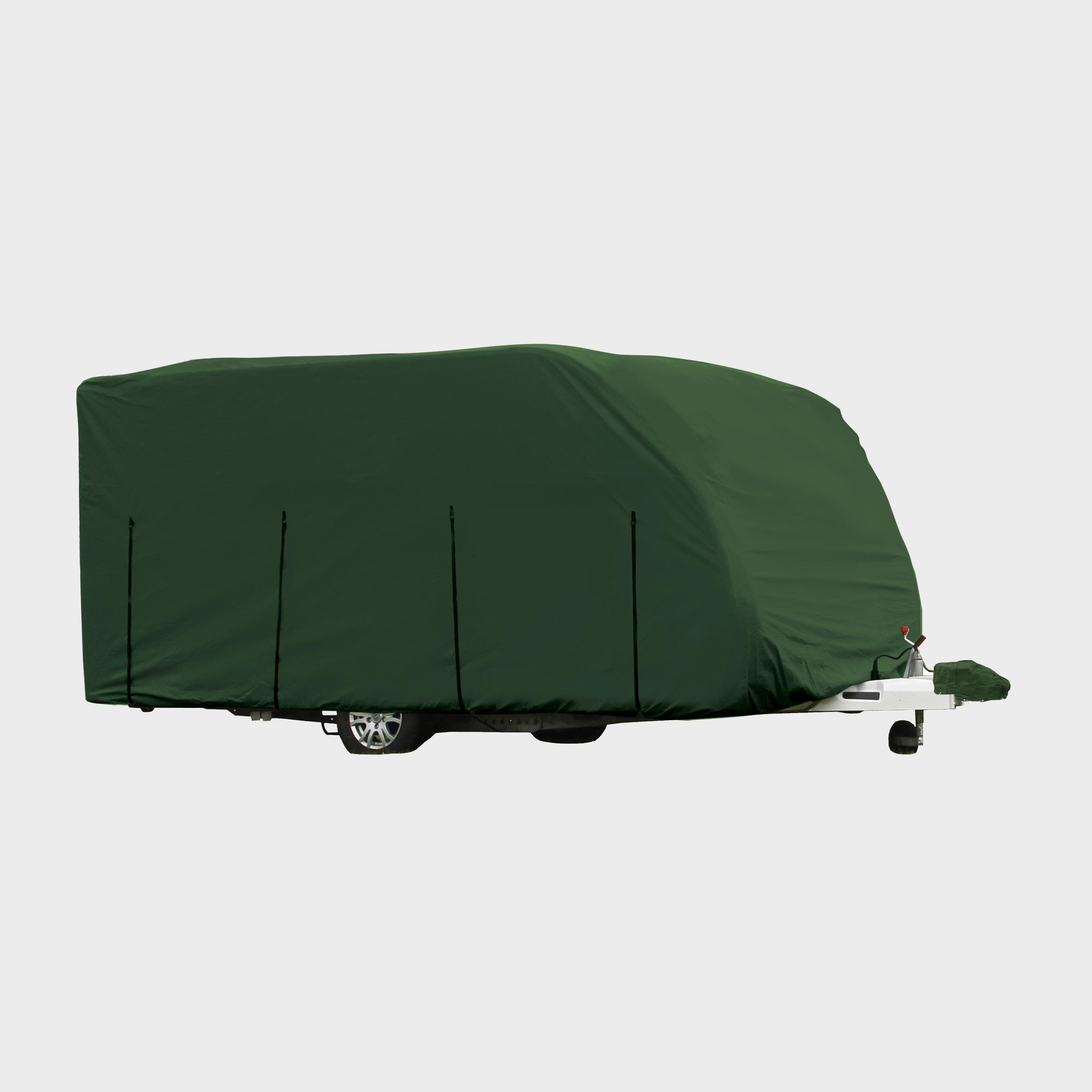 Quest Caravan Cover Pro Medium (420-510Cm) - Green/Grn, Green