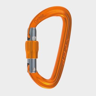 ORANGE Camp Orbit Lock Carabiner