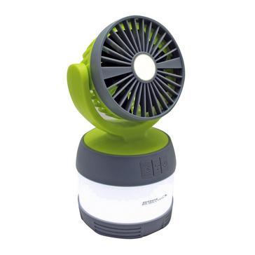 green Outdoor Revolution 3-in-1 Lumi-Fan Lantern