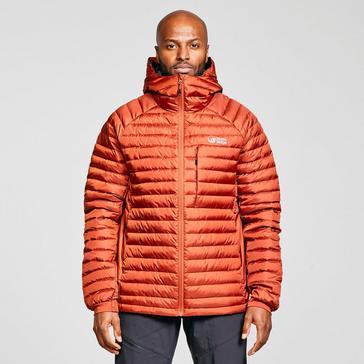 Orange North Ridge Men's Lead Insulated Jacket