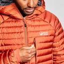 Orange North Ridge Men's Lead Insulated Jacket image 6