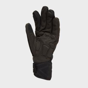 black Sealskinz Men's Waterproof Cold Weather Insulated Gloves