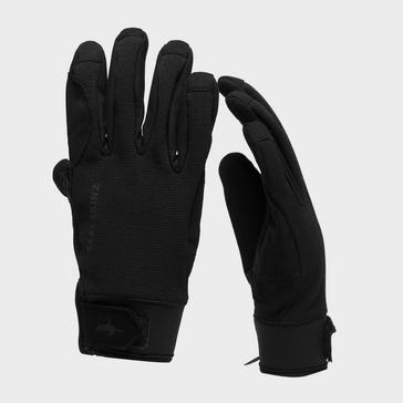 BLACK Sealskinz Men's All-Weather Cycle Gloves