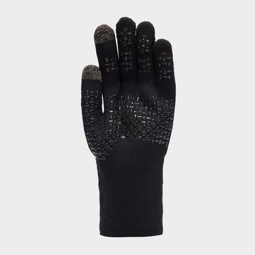 Black Sealskinz Waterproof All Weather Ultra Grip Glove
