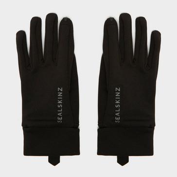 Black Sealskinz Women's Water Repellent All Weather Glove