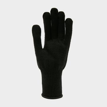 Black Sealskinz Solo Merino Liner Gloves