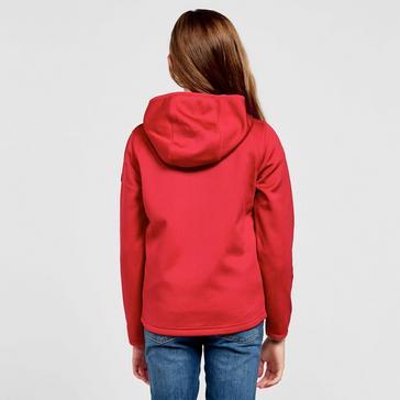 Red Berghaus Kids' Privatale Full-Zip Hoodie