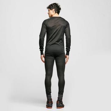 Black The Edge Men's Thermal Underwear Set