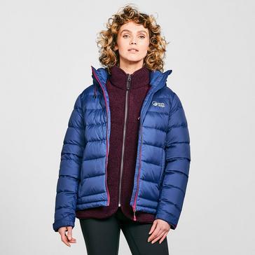 Navy North Ridge Women's Tech Down Jacket