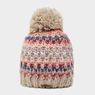 Cream Trekmates Women's Rebecca Knit Hat