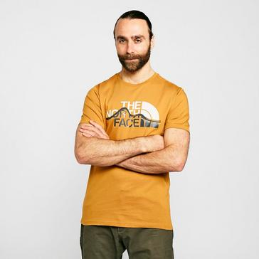 yellow The North Face Men's Mountain T-Shirt
