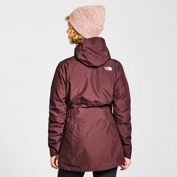 Purple The North Face Women's Hikesteller Parka Shell Jacket