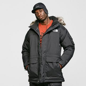 Black The North Face Men's McMurdo Parka