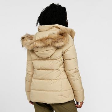 Beige The North Face Women's Gotham II Jacket
