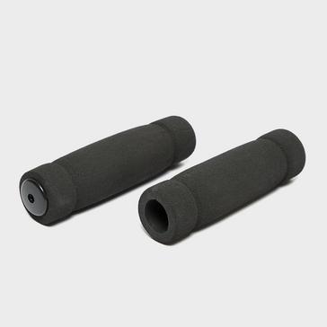 Black Compass Foam Handlebar Grips