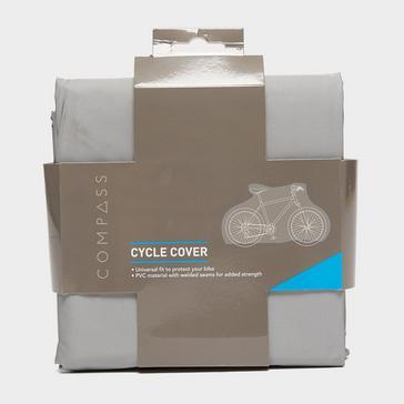 Grey Compass Waterproof Bike Cover