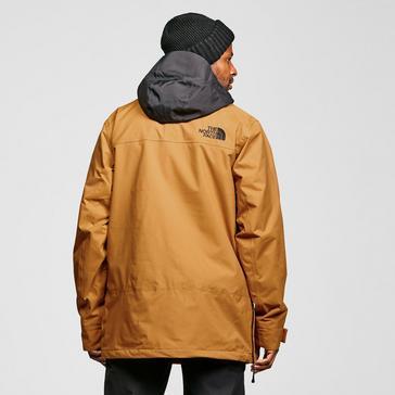 yellow The North Face Men's Silvani Ski Jacket