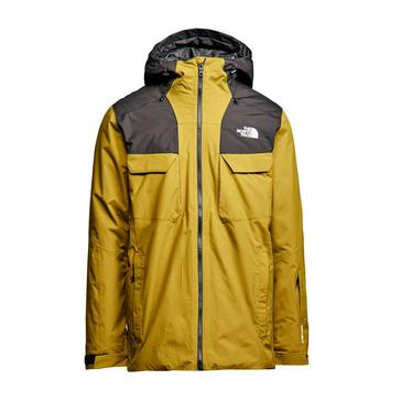 Green The North Face Men's Fourbarrel Zip-In Triclimate Jacket