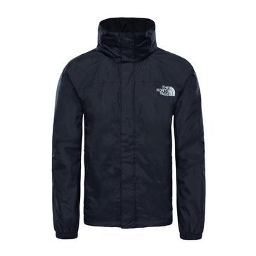 Black The North Face Men's Resolve Waterproof Jacket