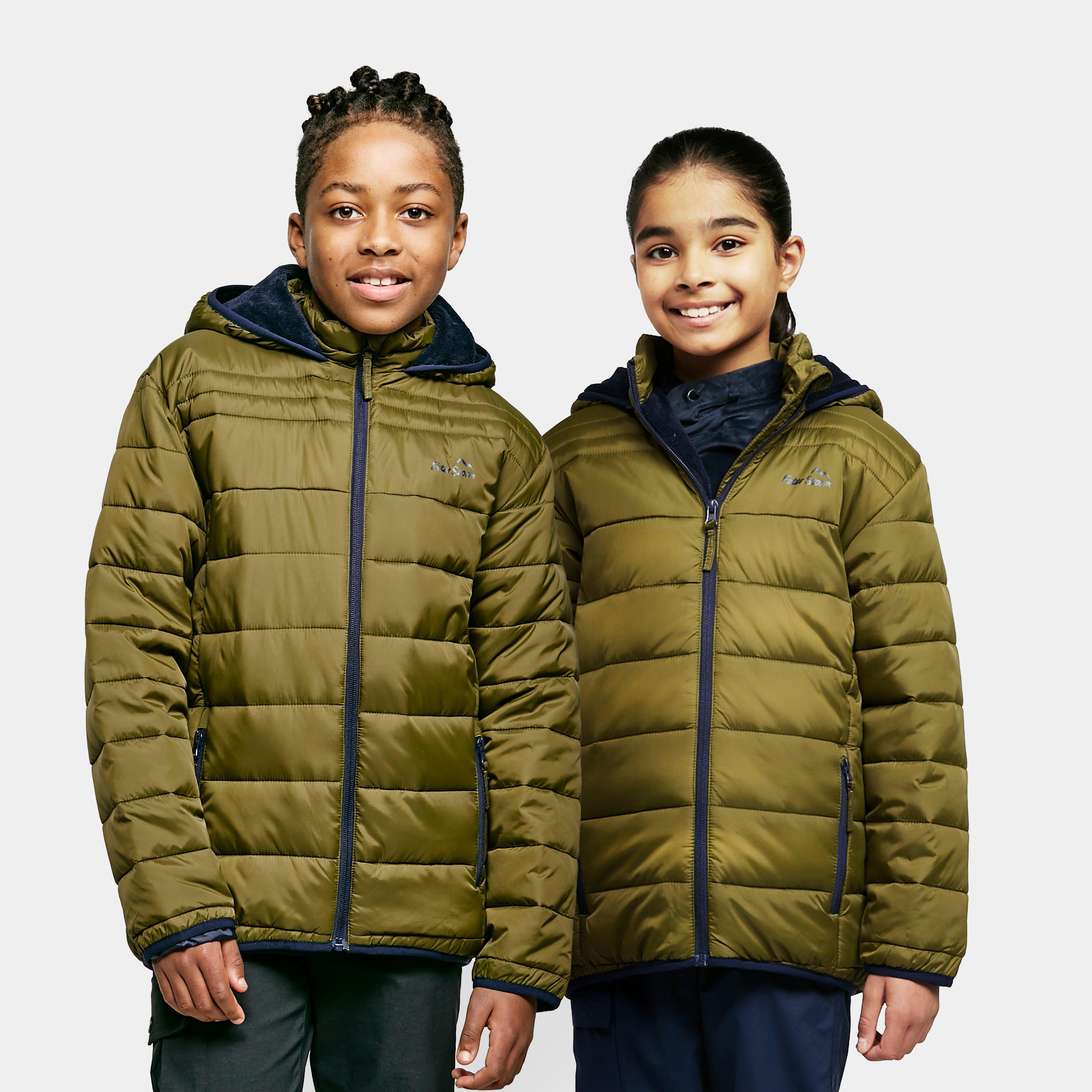Peter Storm Kids' Walrus Jacket - Green/Green, Green