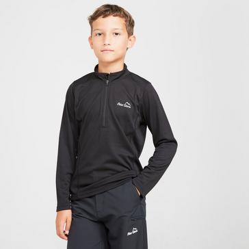Black Peter Storm Kids' Balance Long Sleeve Baselayer Zip Tee