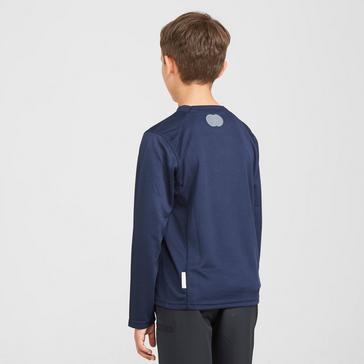 Navy Peter Storm Kids' Balance Long Sleeve Baselayer Top