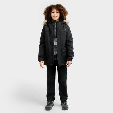 Black Peter Storm Kids' Waterproof Parka