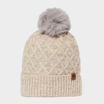 cream Alpine Women's Beki Bobble Hat