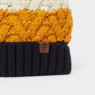 Multi Alpine Men's Gavin Stripe Bobble Hat