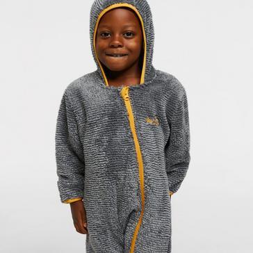 Grey Peter Storm Unisex Kids' Polar Suit
