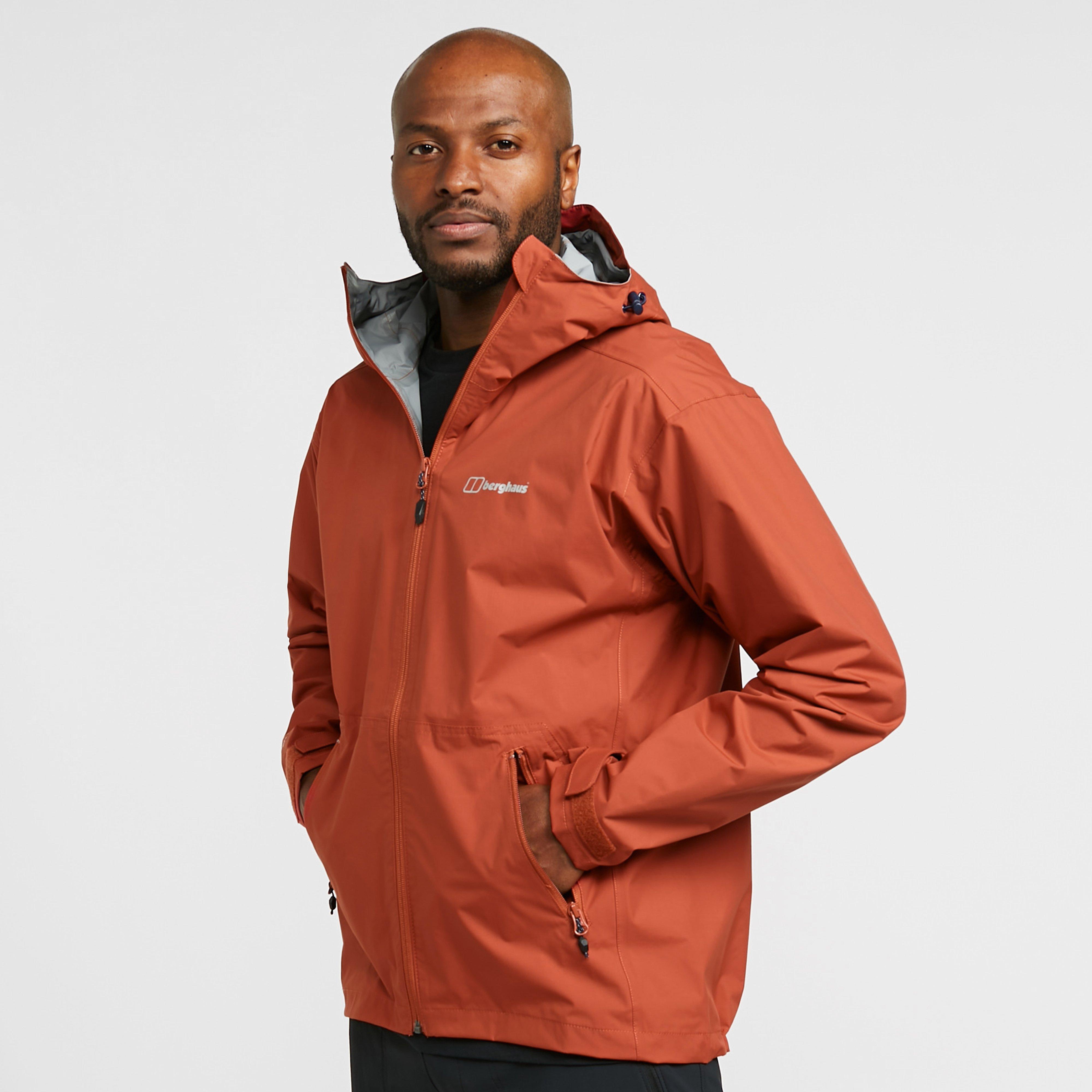 Berghaus Men's Stormcloud Waterproof Jacket - Red/Drd$, Red