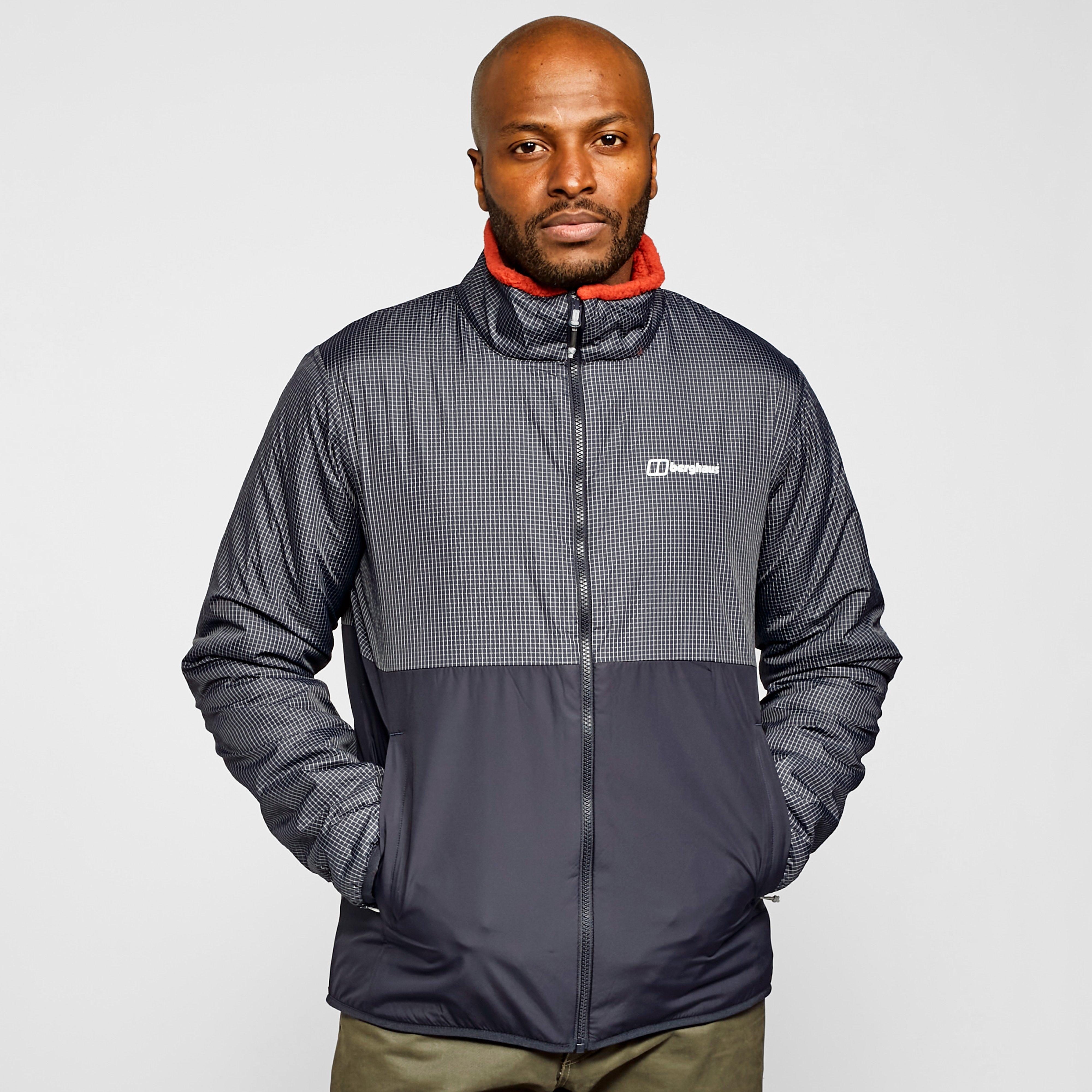 Berghaus Men's Torrak Reversible Softshell Jacket - Grey/Red, Grey/Red