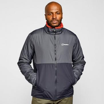 Grey Berghaus Men's Torrak Reversible Softshell Jacket