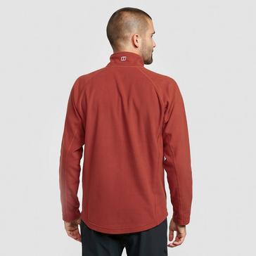 Red Berghaus Men's Hartsop Full-Zip Fleece