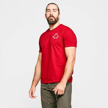 Red Montane Men's Mountain Lines T-shirt
