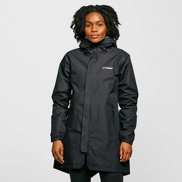 Black Berghaus Women's Commuter Waterproof Jacket