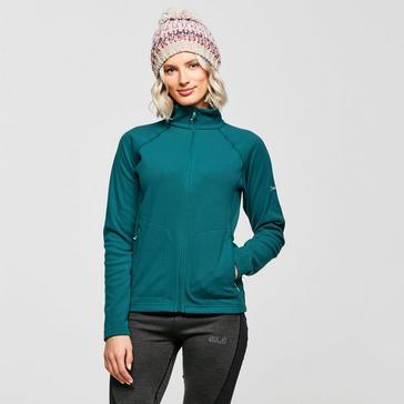 Green Berghaus Women's Hartsop Full-Zip Fleece