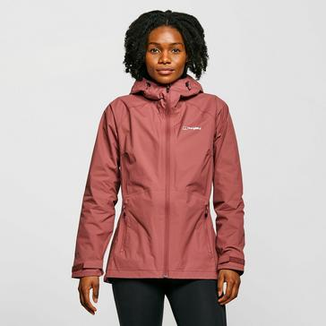 Pink Berghaus Women's Stormcloud Waterproof Jacket