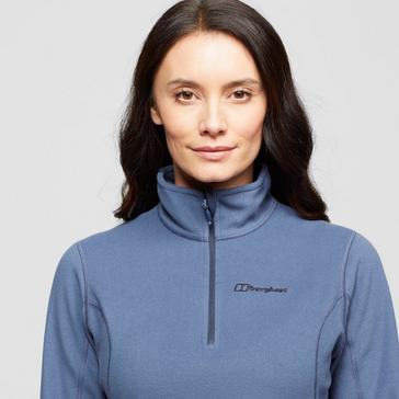 Blue Berghaus Women's Hendra Half-Zip Fleece
