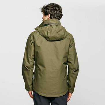 Green Berghaus Men's RG Alpha 2.0 Waterproof Jacket
