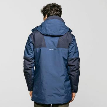 Navy Berghaus Men's Breccan Insulated Parka Jacket