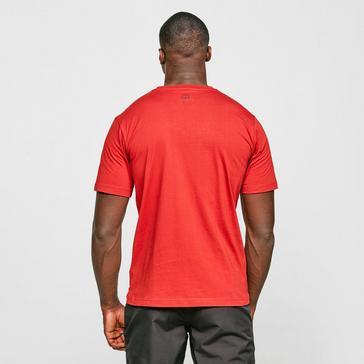 Red Berghaus Men's Modern Logo T-Shirt