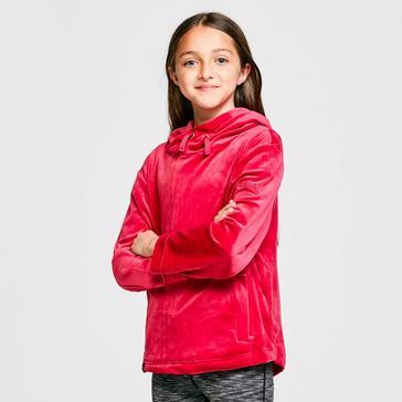 Pink Regatta Kids' Kacie Hooded Fleece