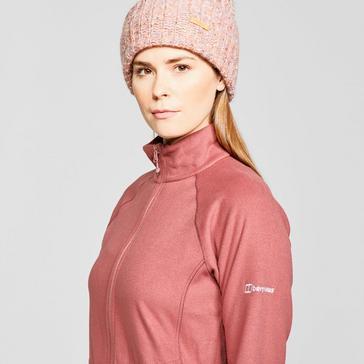 red Berghaus Women's Hartsop Full-Zip Fleece