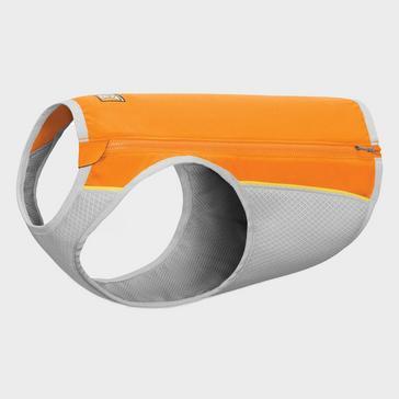 Orange Ruffwear Jet Stream Dog Cooling Vest