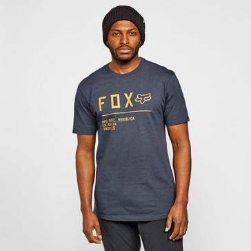 Navy Fox Men's Non Stop Premium Short Sleeve T-Shirt