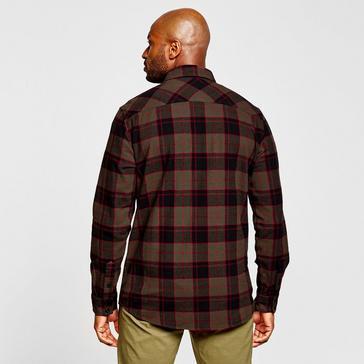 Khaki Fox Men's Traildust 2.0 Flannel Shirt