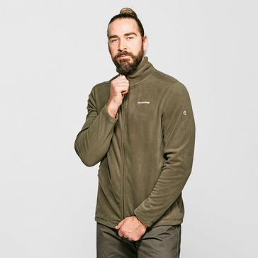 Green Craghoppers Men's Evans Fleece